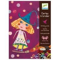 Djeco: Borduurkaarten (nieuw in folie)