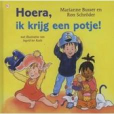 Busser, Marianne en Ron Schroder met ill. van Ingrid ter Koele: Hoera, ik krijg een potje!
