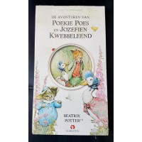 Luisterboek 1cd: De avonturen van Poekie Poes en Jozefien Kwebbeleend van Beatrix Potter (nieuw in folie)