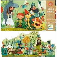 Djeco: Puzzle géant la parade des contes/ de sprookjesparade (36 stukjes)