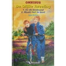 De olijke tweeling omnibus: en de bosbrand / maakt het te bont ( Arja Peters)