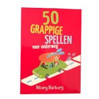 Story Factory: 50 grappige spellen voor onderweg ( nieuw)