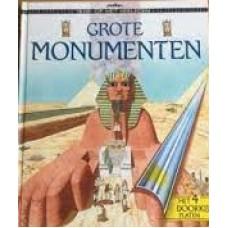 Kijk op het verleden: Grote monumenten ( met 4 doorkijkplaten) door Tim Wood