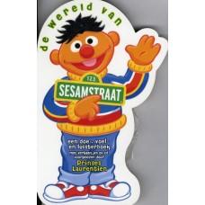 De wereld van Sesamstraat een doe-voel en luisterboek ( met cd)