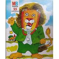 Scarry, Richard: Puzzel dokter leeuw 25 stukjes van MB