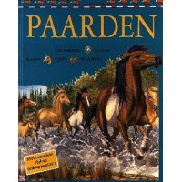 Budd, Jackie: Paarden, geschiedenis gedrag rassen rijden verzorgen ( met complete stal op uitklappagina's)