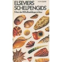 Elseviers schelpengids door A.P.H. Oliver, meer dan 1100 afb. in kleur