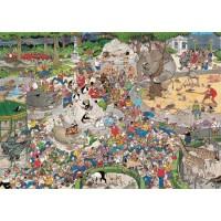 Jan van Haasteren 1000 stukjes: Dierentuin Artis