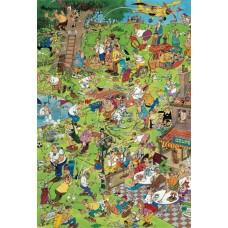 Jan van Haasteren 1000 stukjes: Golf à la Cartoon