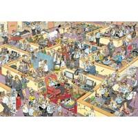 Jan van Haasteren 1000 stukjes: Het Kantoor