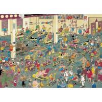 Jan van Haasteren 1000 stukjes: In het fitnesscentrum