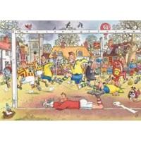 Wasgij original 1000 stukjes: Voetbalgekte (14)