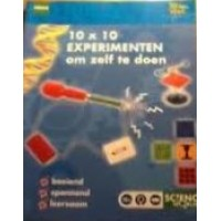 10 x 10 experimenten om zelf te doen  ( Hema Scienve World uitvoering)