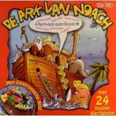 Tactic: De ark van Noach ( met 24 houten dierfiguren)