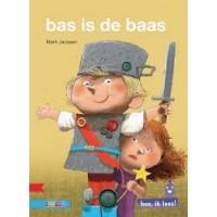 Hee, ik lees! Bas is de baas door Mark Janssen (avi start)