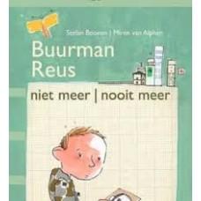 Bij-de-hand zoemt in op rouwverwerking: Buurman Reus niet meer-nooit meer door Stefan Boonen