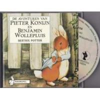 Hoorspel op cd:  De avonturen van Pieter Konijn en Bejamin Wollepluis door Beatrix Potter