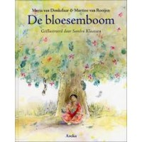 Donkelaar, Maria van en Martine van Rooijen met ill. van Sandra Klaassen: De bloesemboom ( Tibetaanse verhalen)