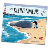 Kinderboekenweek prentenboek 2017: De kleine walvis door Benji Davies ( met app!)