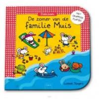 Slegers, Liesbet: De zomer van de familie muis (karton met grappige flapjes)