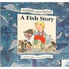 Faulkner, Keith en Jonathan Lambert: A fish story, a giant surprise flap book