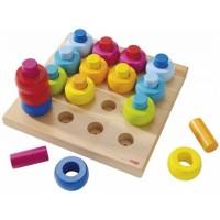 Haba Steckspiel farbkringel- Steekspel kleurringen