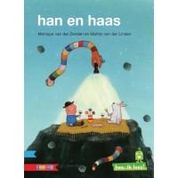 Hee, ik lees! Han en haas door Monique van der Zanden en Martijn van der Linden
