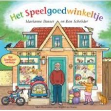 Busser, Marianne en Ron Schroder met ill. van Ingrid ter Koele: Het speelgoedwinkeltje
