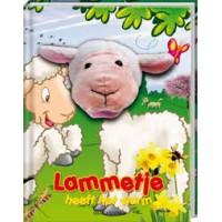 Handpopboek: Lammetje heeft het warm door Rikky Schrever