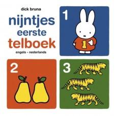 Bruna, Dick: Nijntjes eerste telboek engels-nederlands (karton)