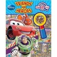 Disney super kijk- en zoekboek: Vrienden en helden