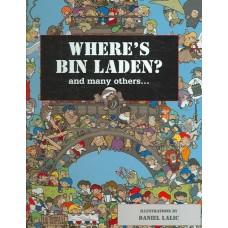 Waterkeyn, Xavier met ill. van Daniel Lalic: Where's Bin Laden? and many others ... (3D edition with 3D glasses)