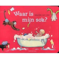 Cate, Marijke ten: Waar is mijn sok? (vrolijk zoekboek)