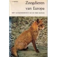 De natuur in kleuren: Zoogdieren van Europa door Claus König