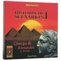 999 games: De kolonisten van Catan, Historische Scenario's 1: Cheops & Alexander de Grote