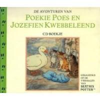 Potter, Beatrix:  De avonturen van Poekie Poes en Jozefien Kwebbeleend ( cd- boekje)