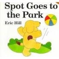 Hill, Eric: Dribbel naar het park ( kijk-achter-de-flapboek)