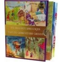 Gebroeders Grimm: de mooiste sprookjes i ( Hans en Grietje/ Doornroosje/ Repelsteeltje/ Rapunzel) ( 4 avi boekjes in cassette )