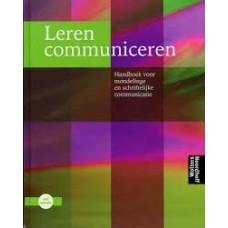 Leren communiceren door Michael Steehouder Carel Jansen Co-auteur: J. Mulder E. Van Der Pool L. van Gulik W. Zeijl