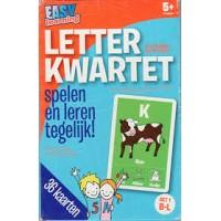 Easy learning letterkwartet: set 1 medeklinkers B tot L
