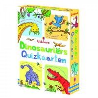 Usborne: Dinosauriérs quizkaarten