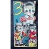 Radion dierenboekje 1955: 3 kleine katjes ( deeltje 6)