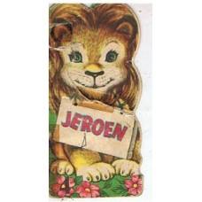 Radion dierenboekje 1955: Jeroen ( deeltje 4)