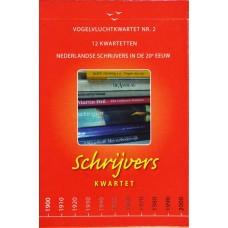 Schrijverskwartet Nederlandse schrijvers uit de 20ste eeuw ( nieuw in folie)
