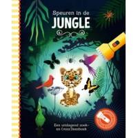 Studio Stampij: Speuren in de jungle (een uitdagend zoek-en voorleesboek met kartonnen zaklamp)