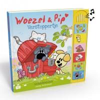 Nederhorst, Guusje: Woezel en Pip, verstoppertje (geluidenboek)