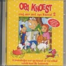 Cd: Opa Knoest, zing mee met opa Knoest 2  ( 12 kinderliedjes en een verhaal verteld door Elly Zuiderveld)