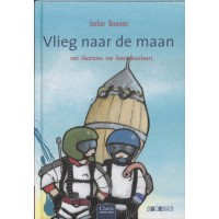 Boonen, Stefan met ill. van Greet Boschaert: Vlieg naar de maan (samenleesboek)