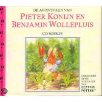 Potter, Beatrix:  De avonturen van Pieter Konijn en Benjamin Wollepluis ( cd- boekje)