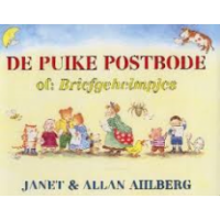 Ahlberg, Janet en Allan: De puike postbode of: Briefgeheimpjes ( met alle brieven) kleinere uitvoering